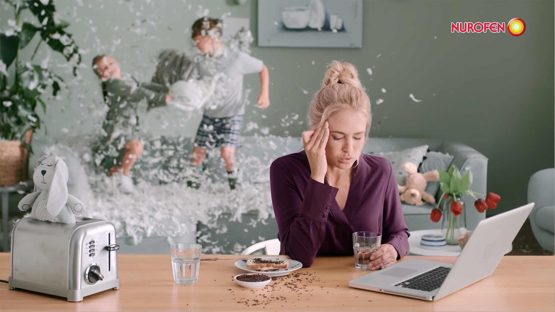 Nurofen Commercial