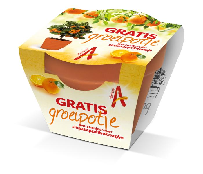 Appelsientje Groeipotje Verpakking
