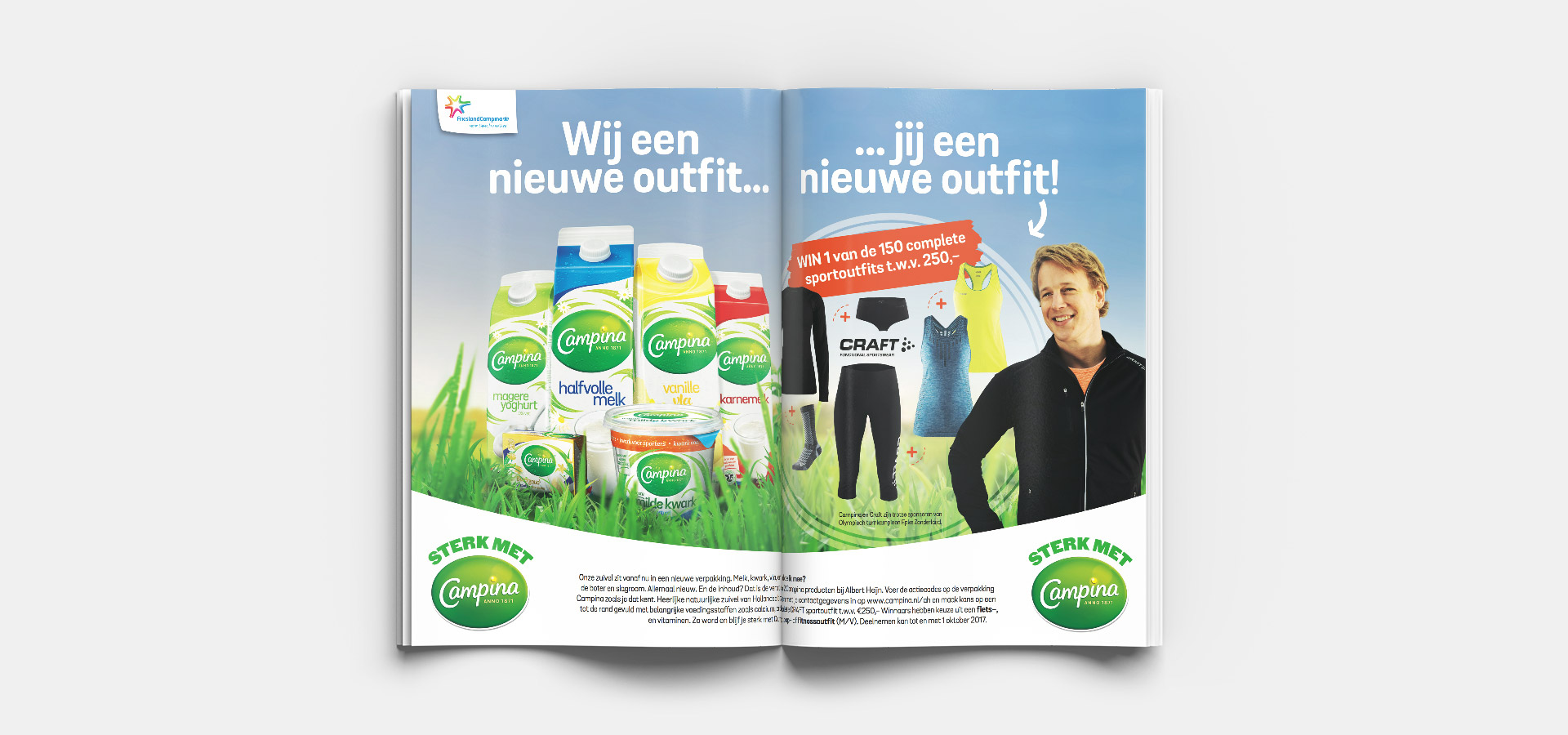 Campina Redesign Advertentie Allerhande