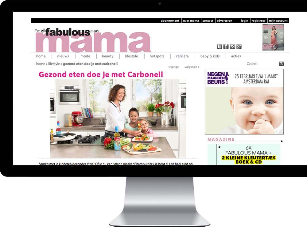 Carbonell Olys iMac Blog