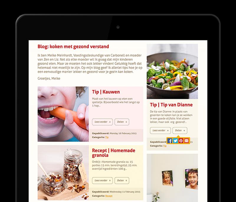 Carbonell Olys iPad Blog