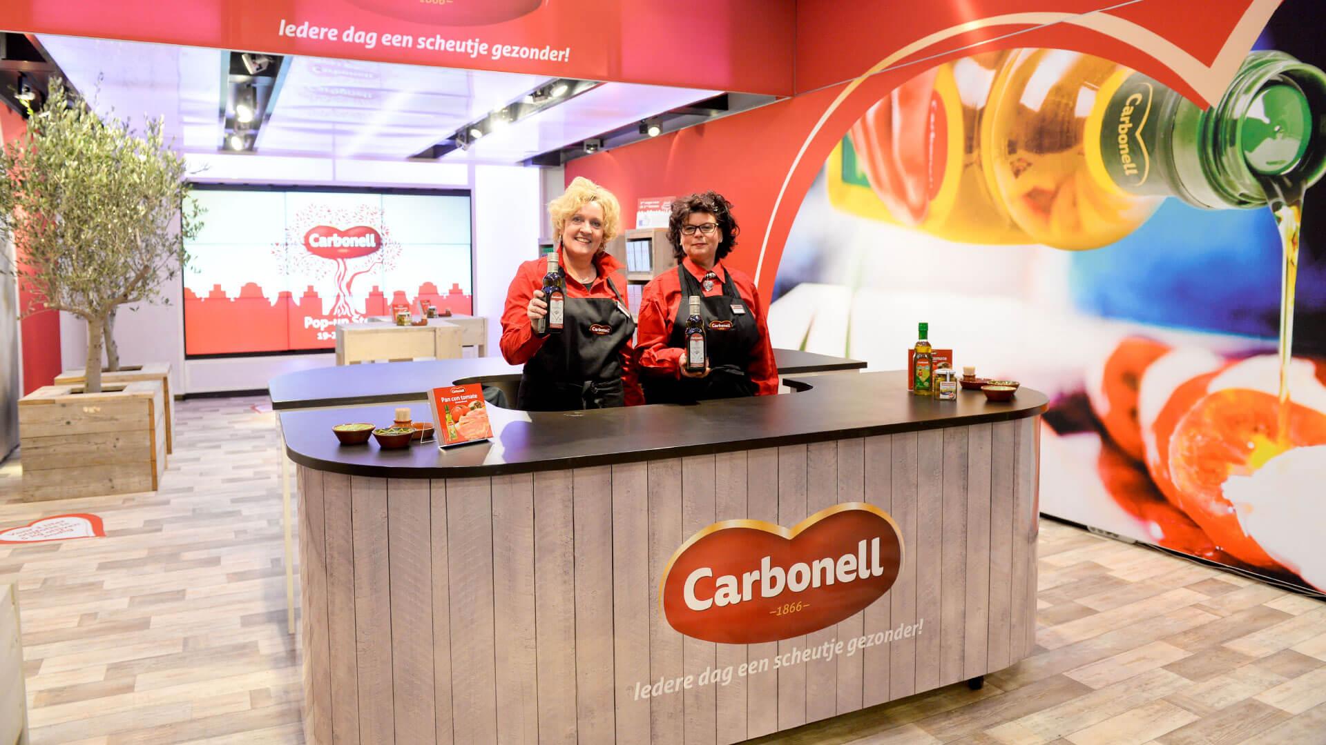Carbonell Olys Pop-up Store Kalverstraat