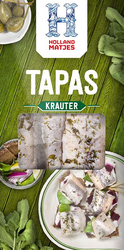 Holland Matjes Tapas Krauter