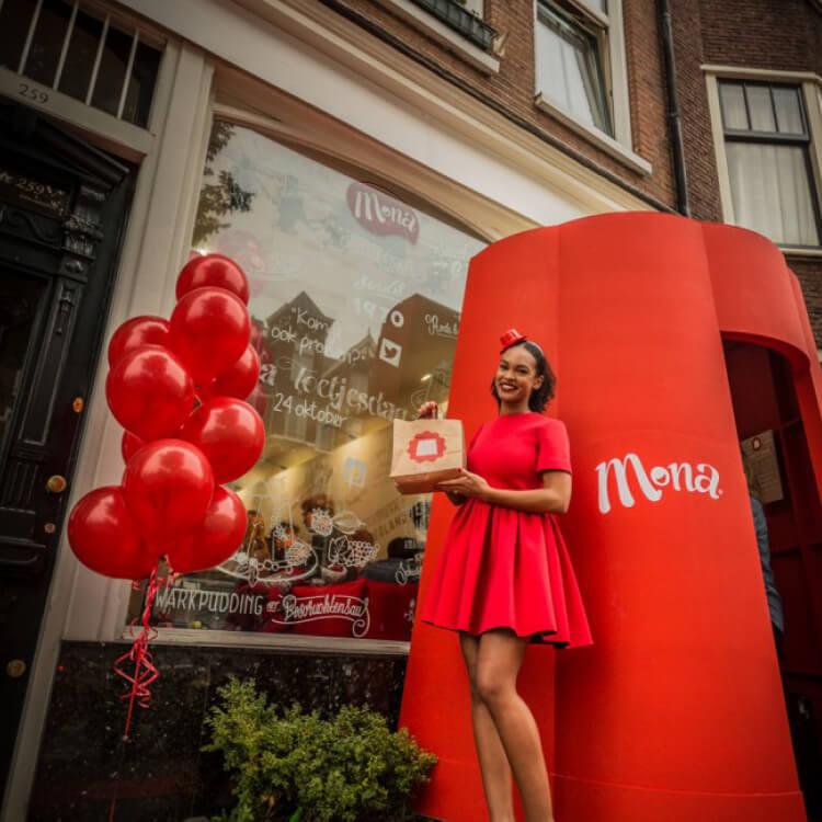 Mona Toetjesdag Pop-up Store