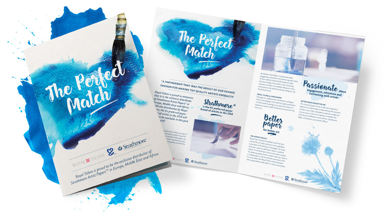 Royal Talens. The Perfect Match Brochure